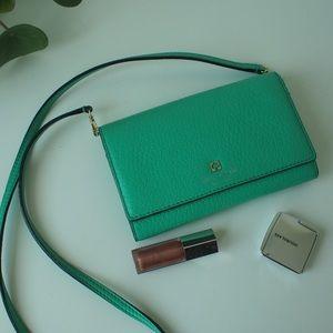 Kate Spade small handbag, gorgeous green color